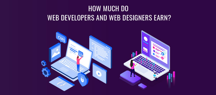 Web Developers earning